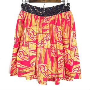 Vanessa Virginia Anthropologie Tamarind Skirt Sz 6